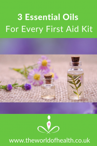 essential oils for every first aid kit