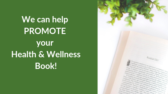 how to promote your health and wellness book