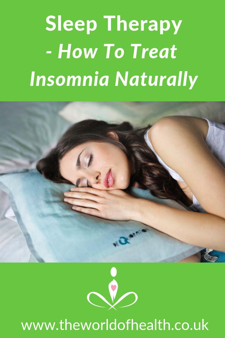 sleep therapy treat insomnia
