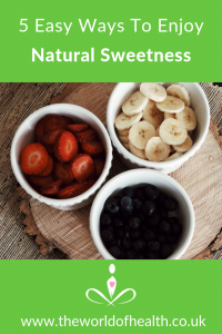 healthy sugar substitutes